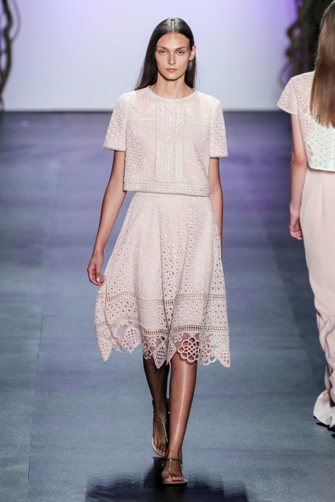 New York Fashion Week S/S 2016 - Tadashi Shoji - Runway Featuring: Model Where: New York, United States When: 10 Sep 2015 Credit: FashionPPS/WENN.com